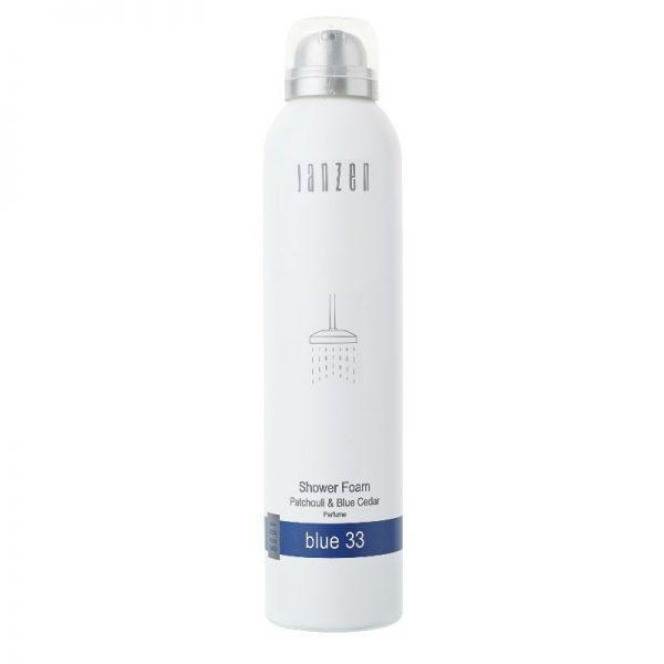 Janzen shower foam - Blue 33