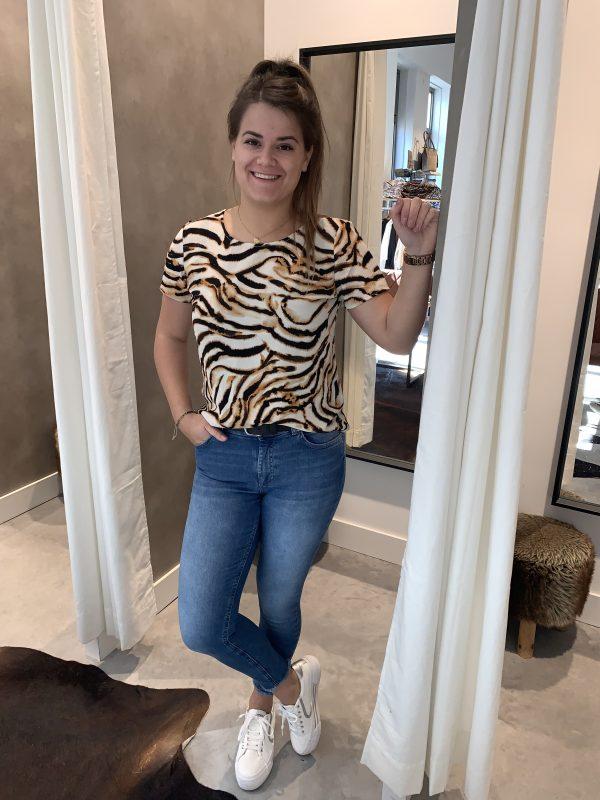 Sasha top tijger