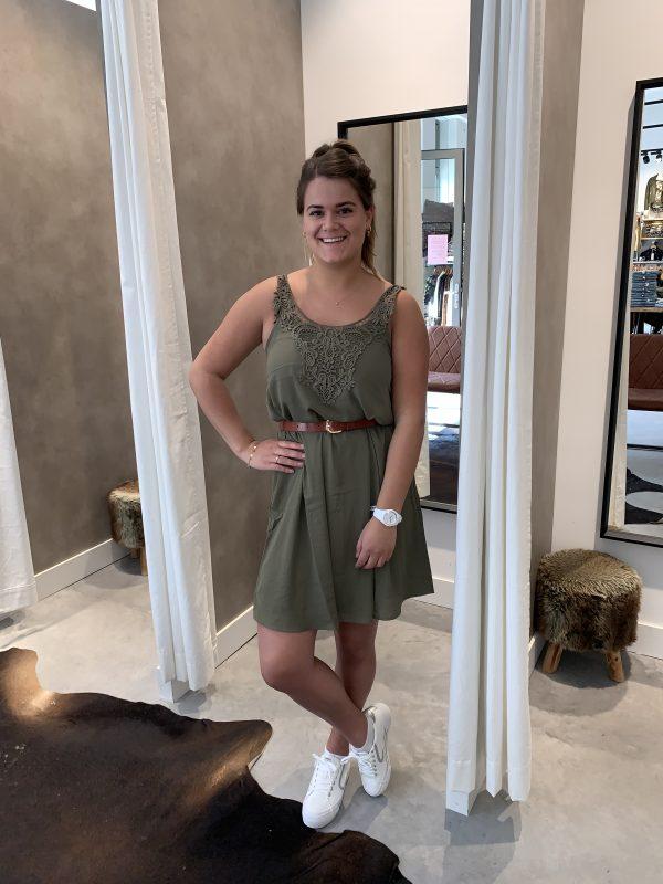 Beverly dress - groen