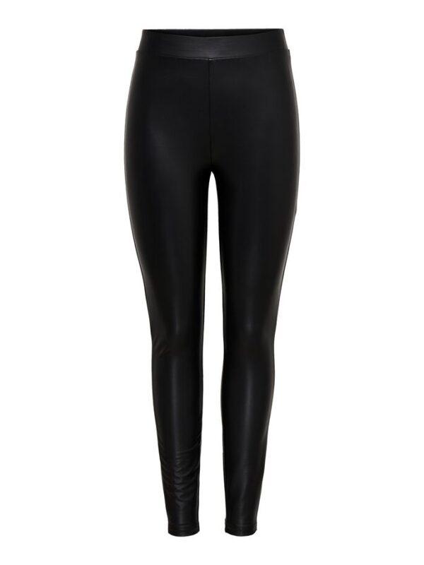 Coated legging - Zwart