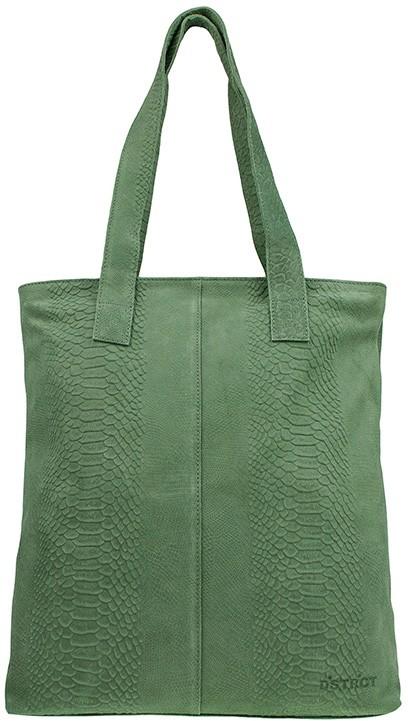 DSTRCT portland shopper croco - groen