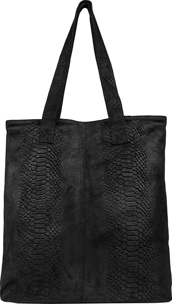 DSTRCT portland shopper croco - zwart