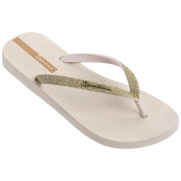 Ipanema lolita slipper beige/goud