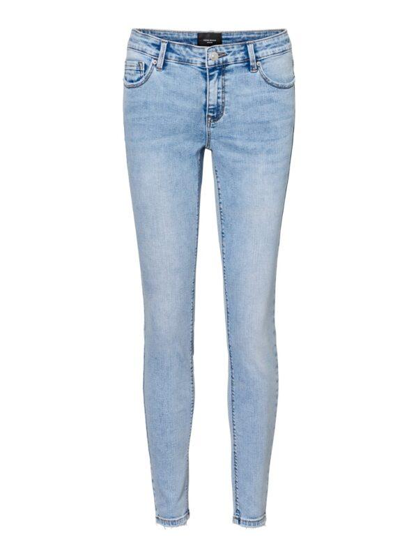 Low waist skinny jeans - Lydia light blue