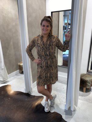Saga dress - bruin