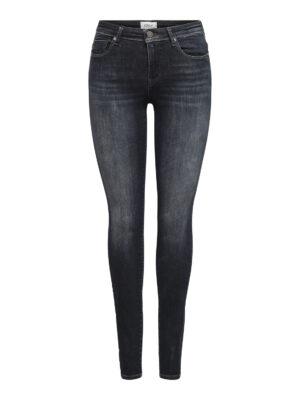 Shape jeans - Donkerblauw/zwart