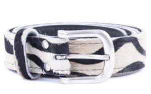 Zebra riem 3 cm