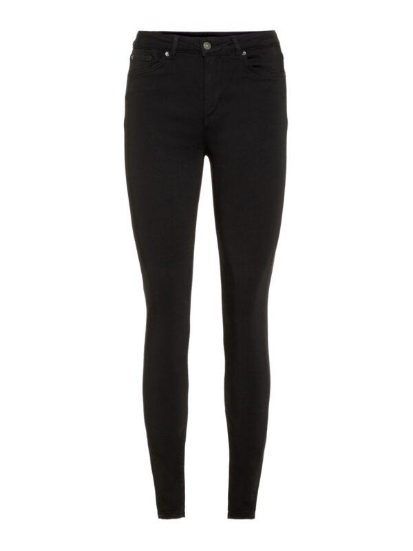 Zwarte kleurvaste jeans