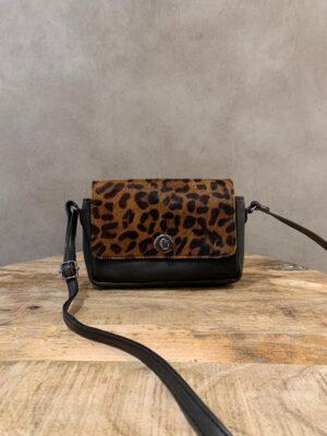 DSTRCT schoudertas leopard print