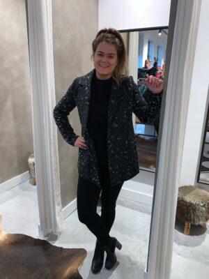 Leopard jacket - Grijs