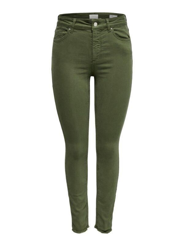 Blush enkel jeans - Groen