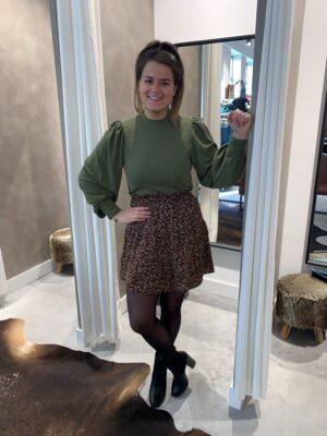 Skirt otilia bloemenrprint