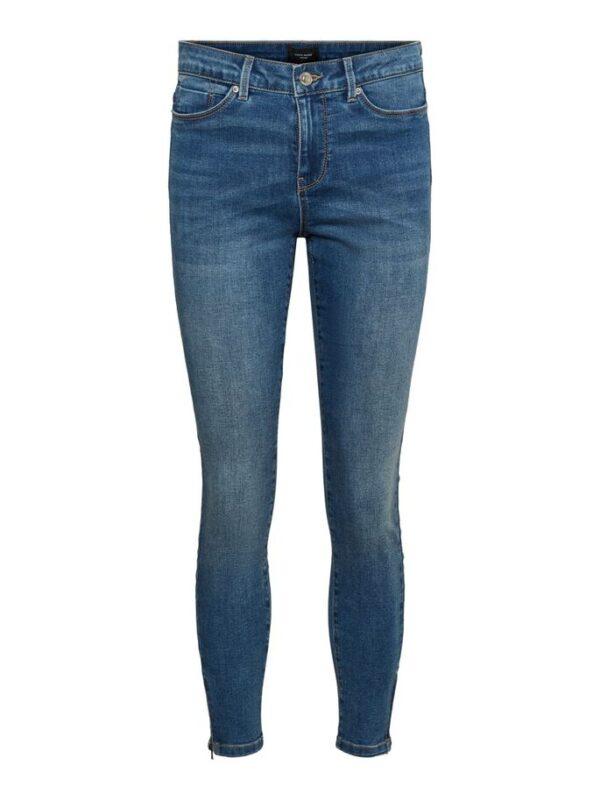 Tilde skinny enkel jeans- Medium blue