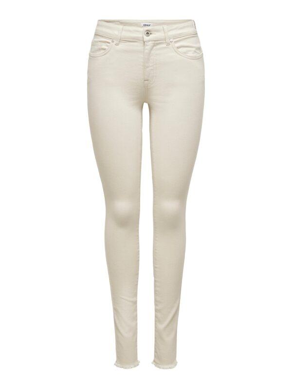 Blush enkel jeans - Ecru