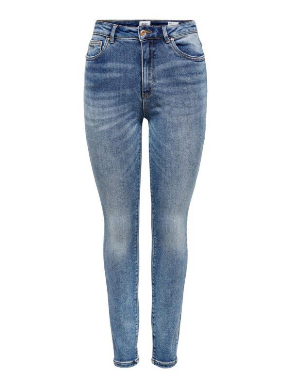 Mila high waist - medium blue